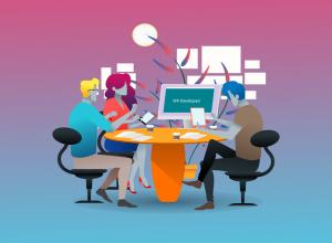 developeri rade seo optimizaciju web-stranice za tražilice